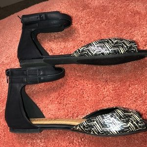 Rampage Brand New Flat Sandals. NTWO,